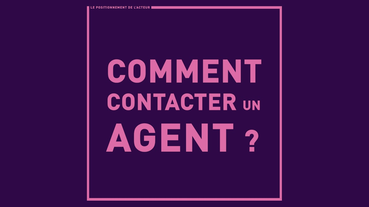 Comment contacter un agent ?