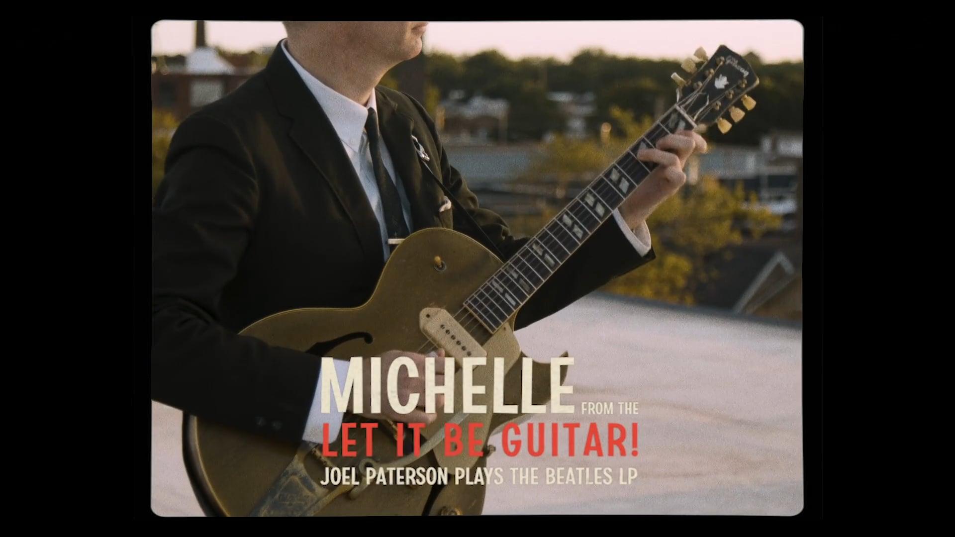 Joel Paterson // 'Michelle' LIVE Cover