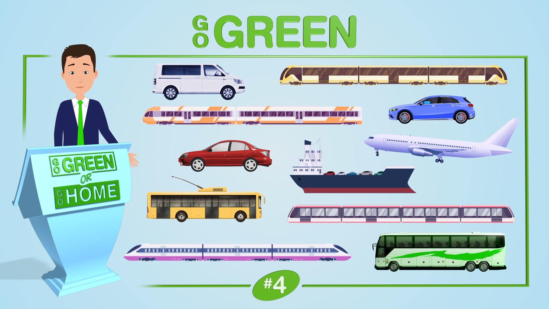 American Bus Association: Animation Concept Video