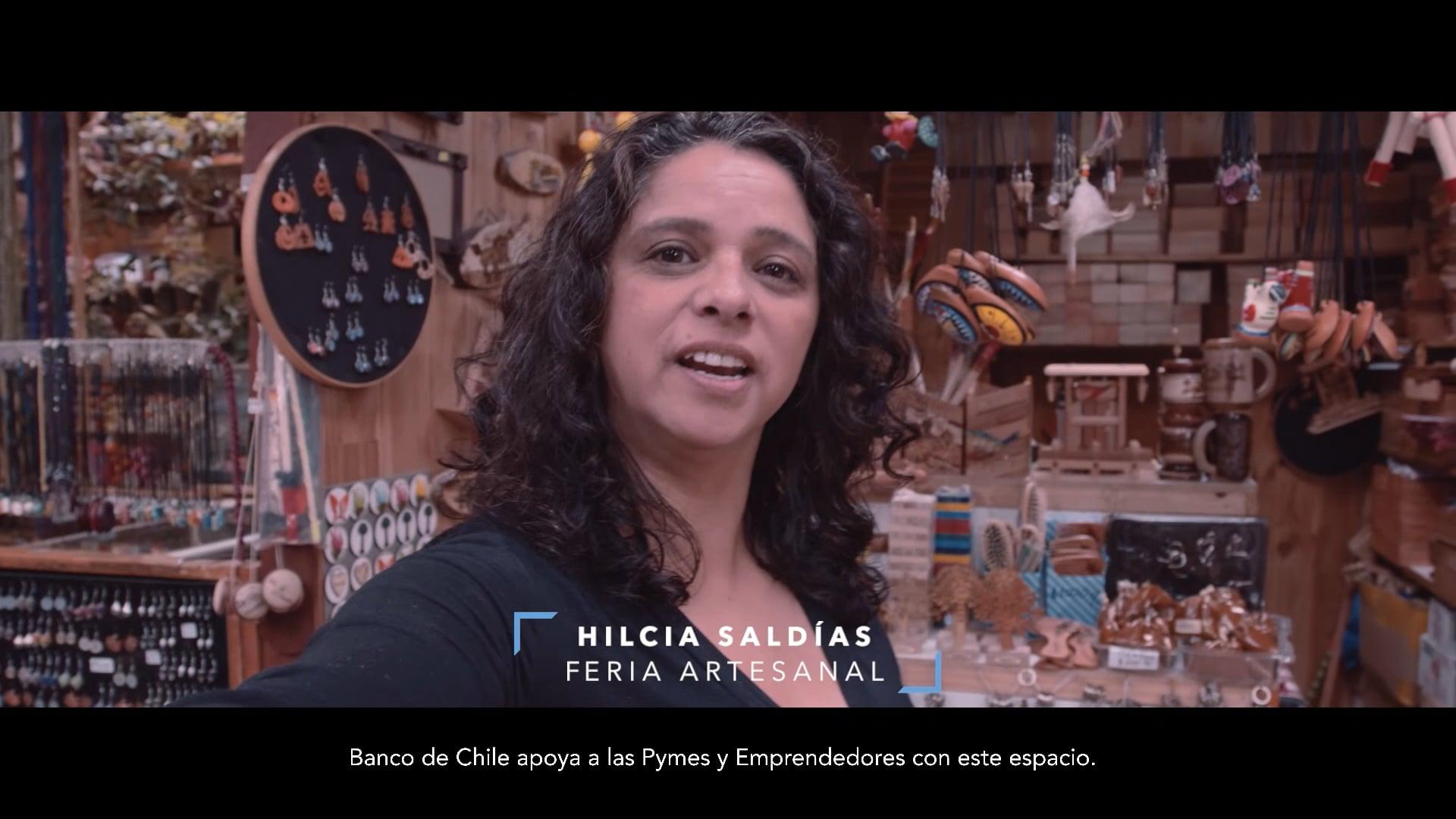 BANCO DE CHILE PYMES FERIA ARTESANAL MEGA