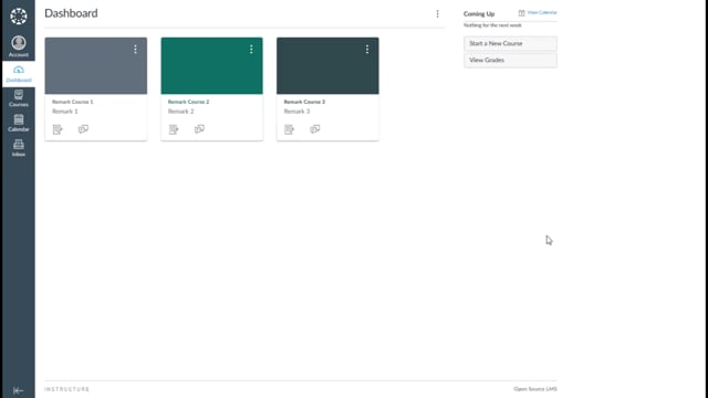 Using Remark Test Grading Cloud's Canvas Connector