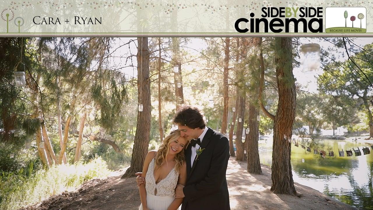 Cara + Ryan - Wedding Camping