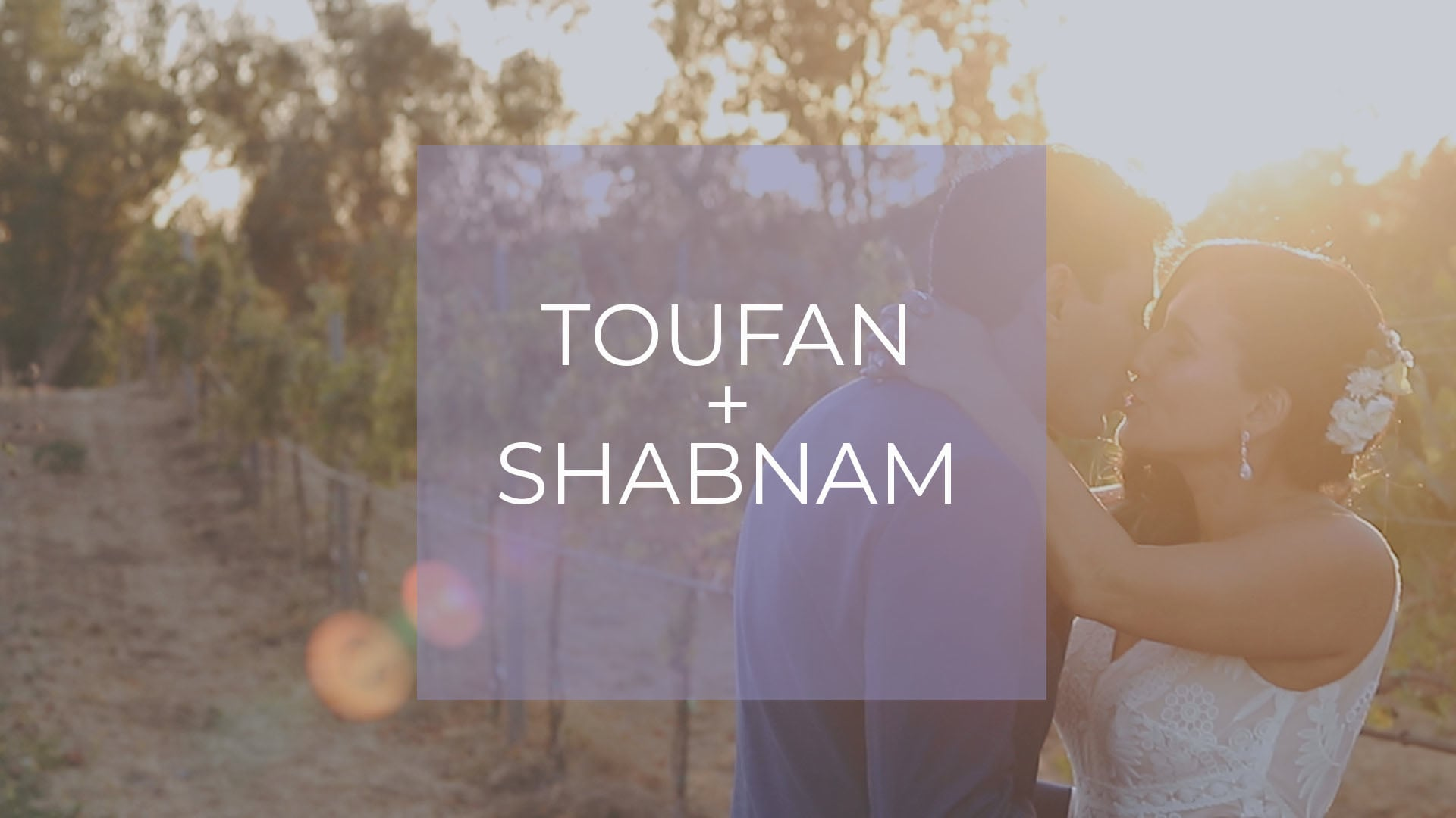 Toufan + Shabnam