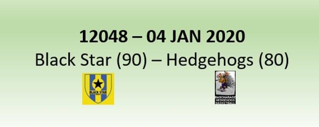 N2H 12048 Black Star Mersch (90) - Hedgehogs Bascharage (80) 04/01/2020