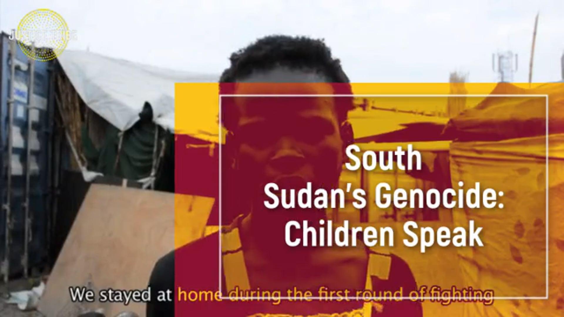 South Sudan's Genocide: Children Speak