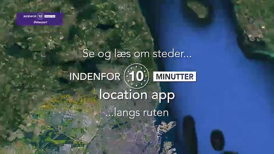 Indenfor 10 Minutter - Østerport - Kirkegård - Nyboder - BUS