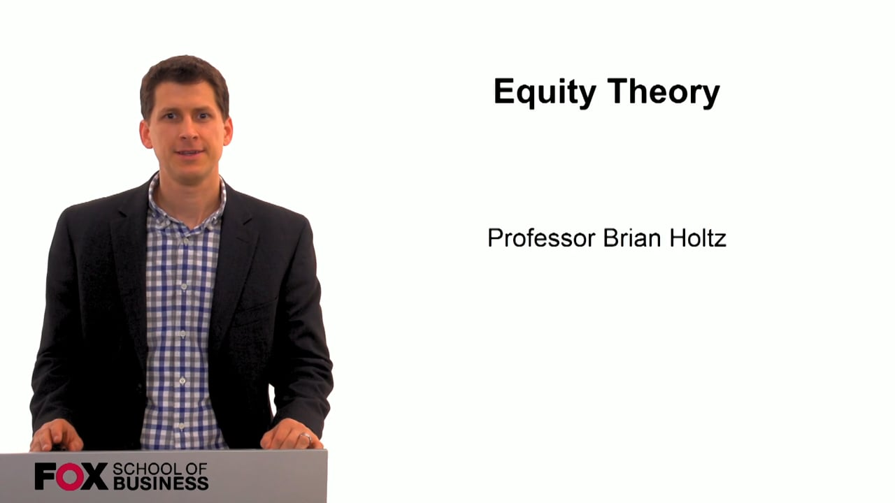 59816Equity Theory