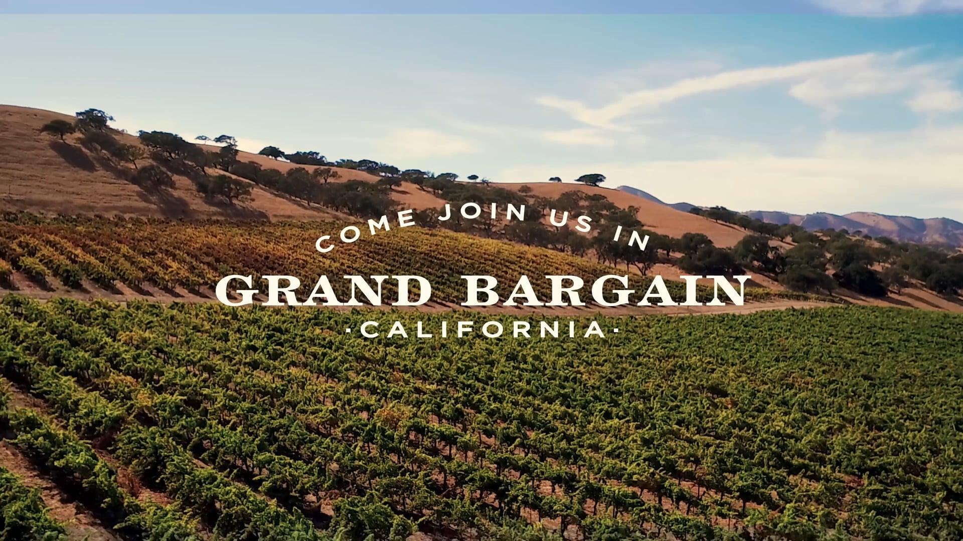 Grand Bargain, California