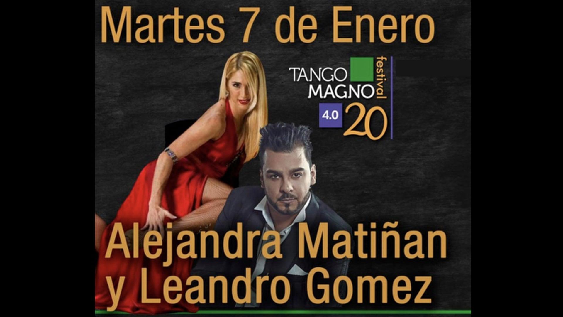 Alejandra Matiñan y Leandro Gomez