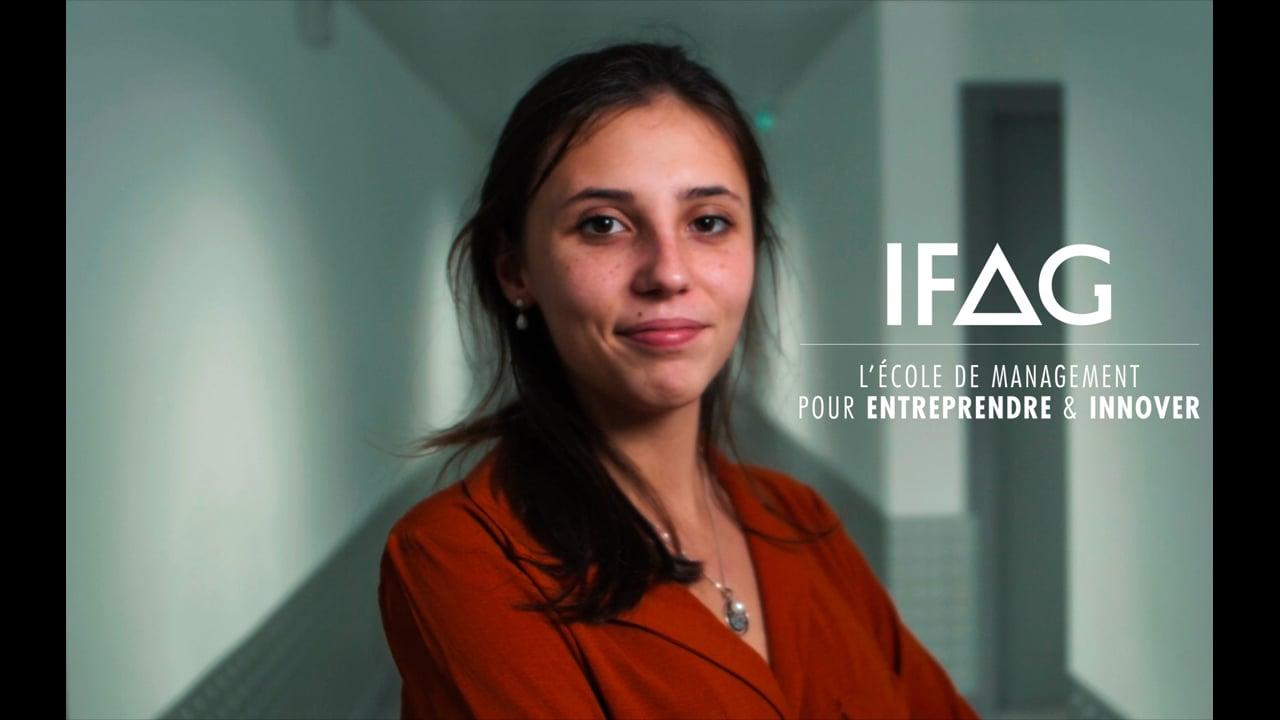 VIDÉO PROMOTIONNELLE - IFAG ÉCOLE DE MANAGEMENT