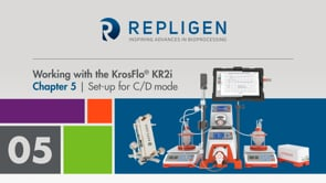 Tutorial: Working with the KrosFlo® KR2i | Chapter 5: Set-up for C/D mode