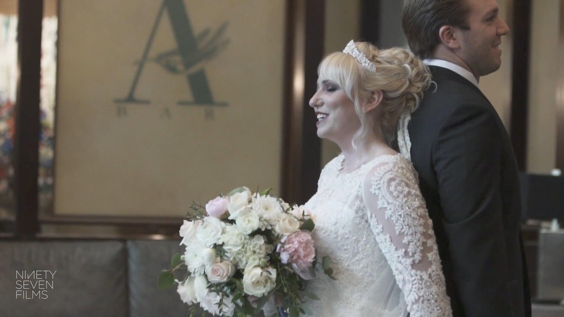 Annunciation Greek Orthodox Church and Athenaeum Hotel Greektown | Courtney + Nicholas Wedding Film