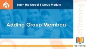 Adding Group Members
