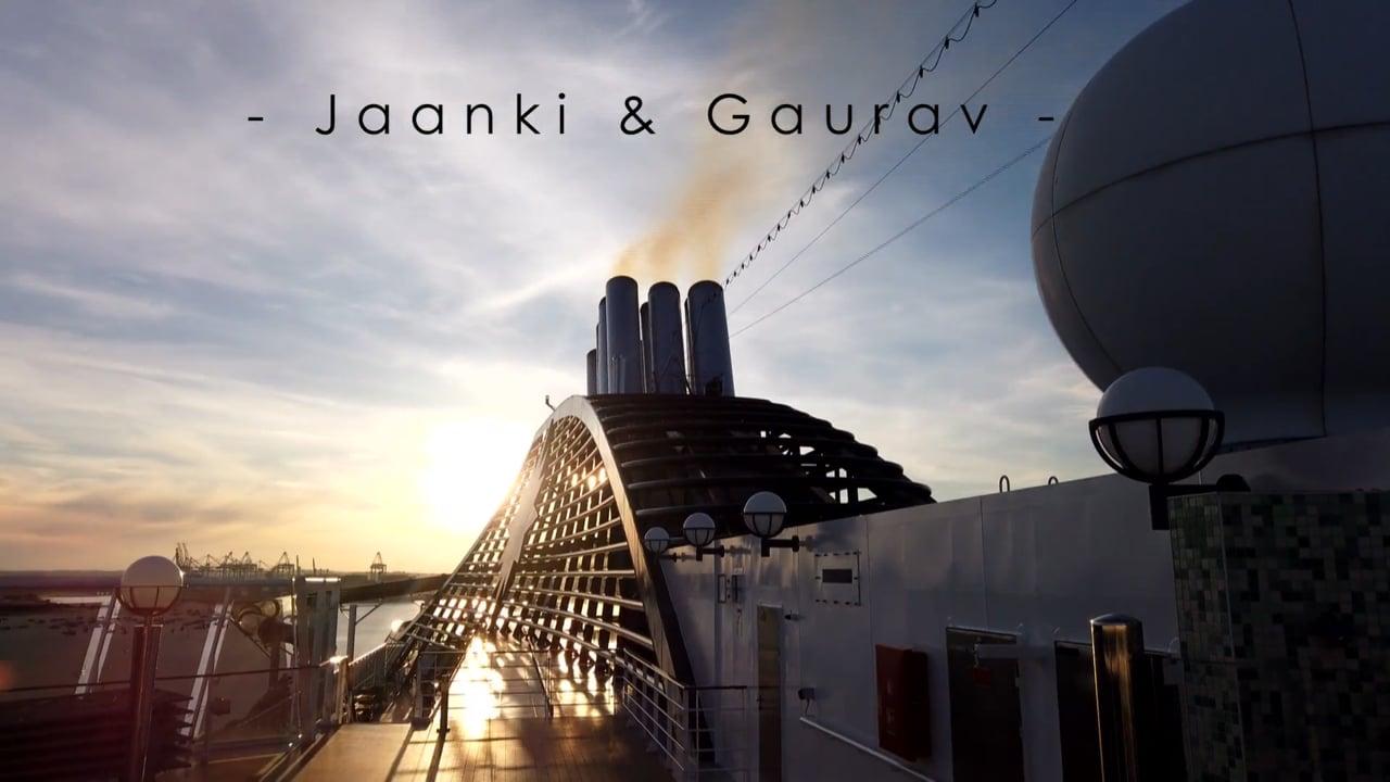 Jaanki & Gaurav's Moments - Cruise Ship Indian Wedding