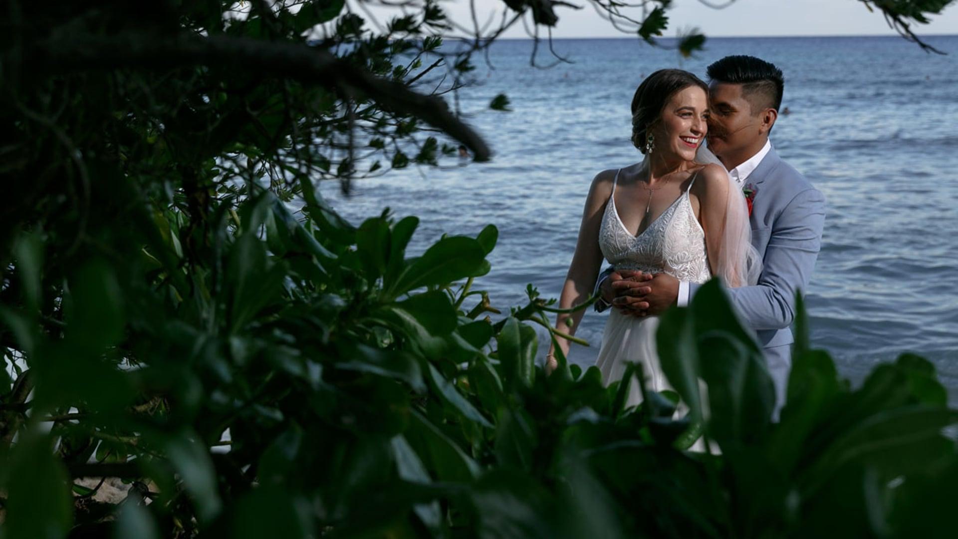 Ocean Riviera Paradise Wedding Film. Michelle & Romark Highlights