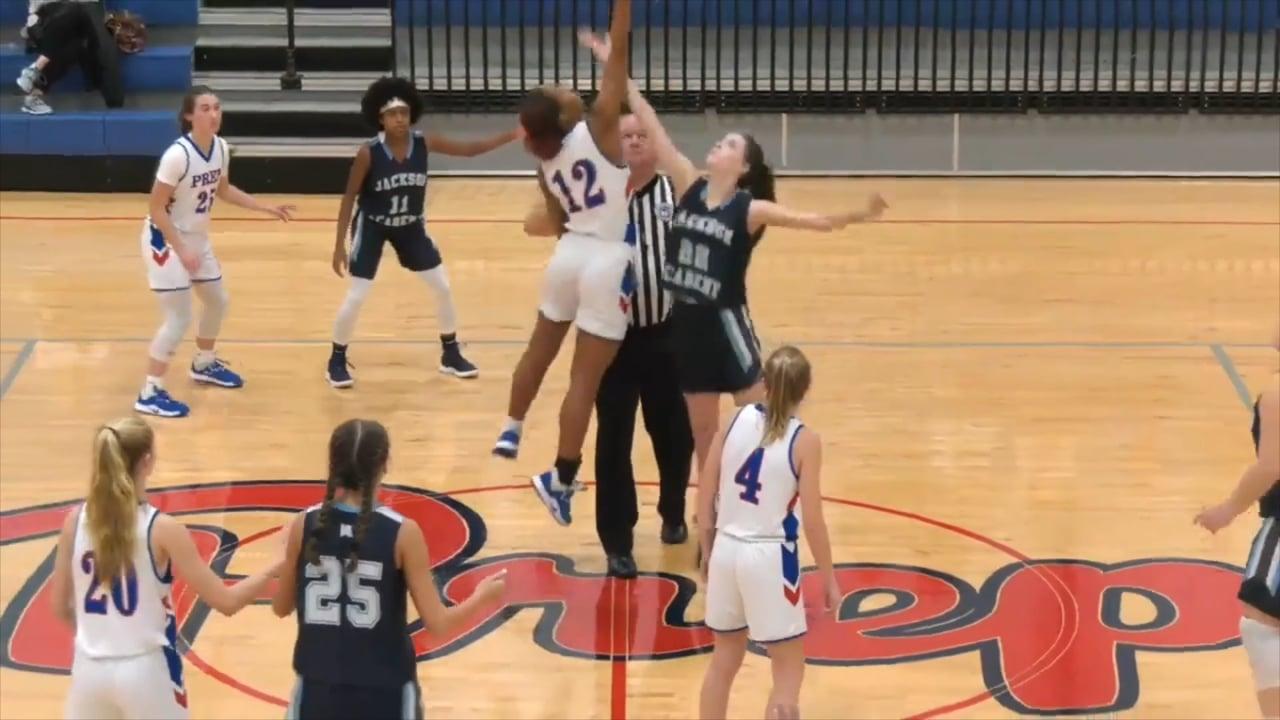 JV Girls Basketball-2020-Jan 7-Jackson Prep
