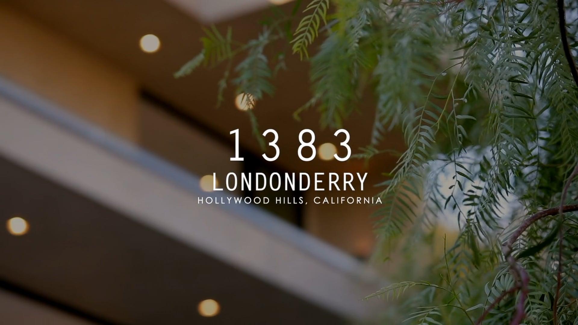 1383 Londonderry, Hollywood Hills CA