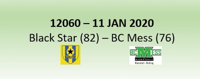 N2H 12060 Black Star Mersch (82) - BC Mess (76) 11/01/2020