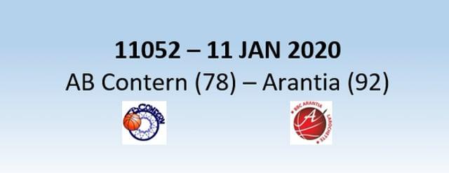N1H 11052 AB Contern (78) - Arantia Larochette (92) 11/01/2020