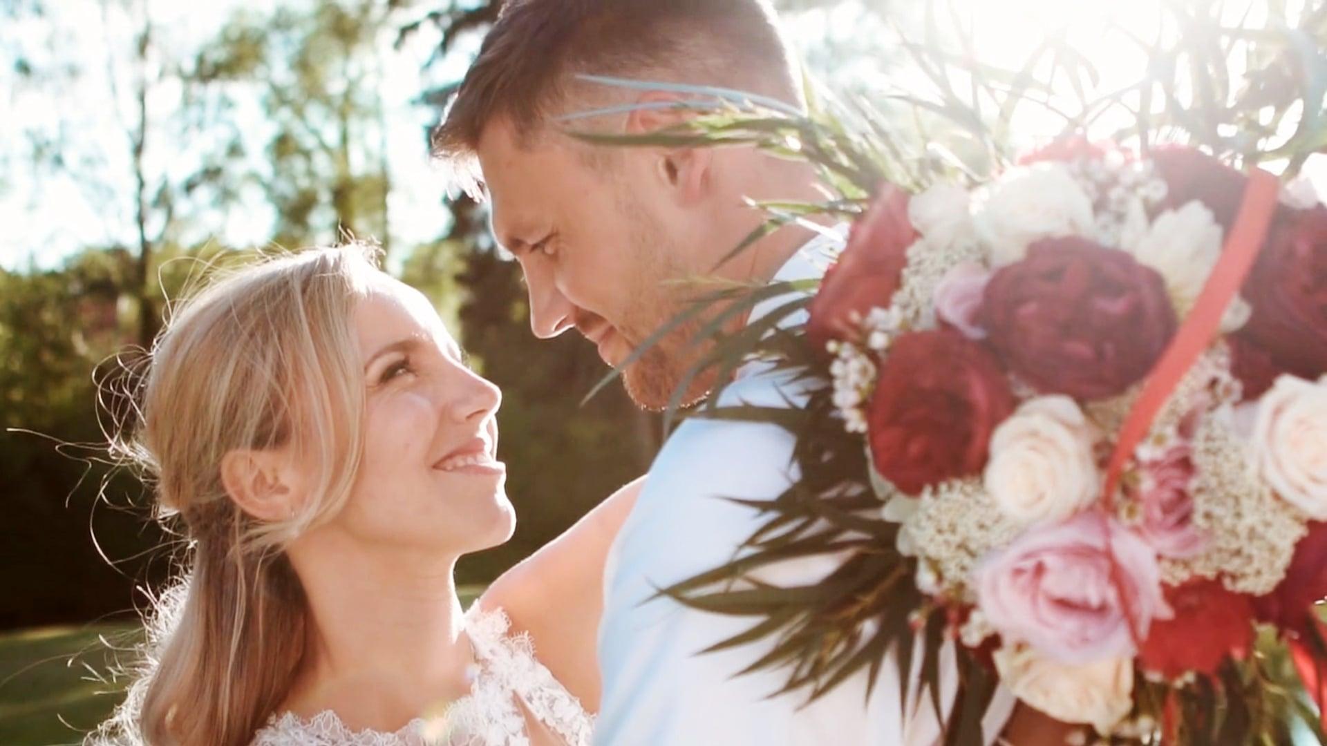 Svatební den: Míša a Dan / Statek Všetice