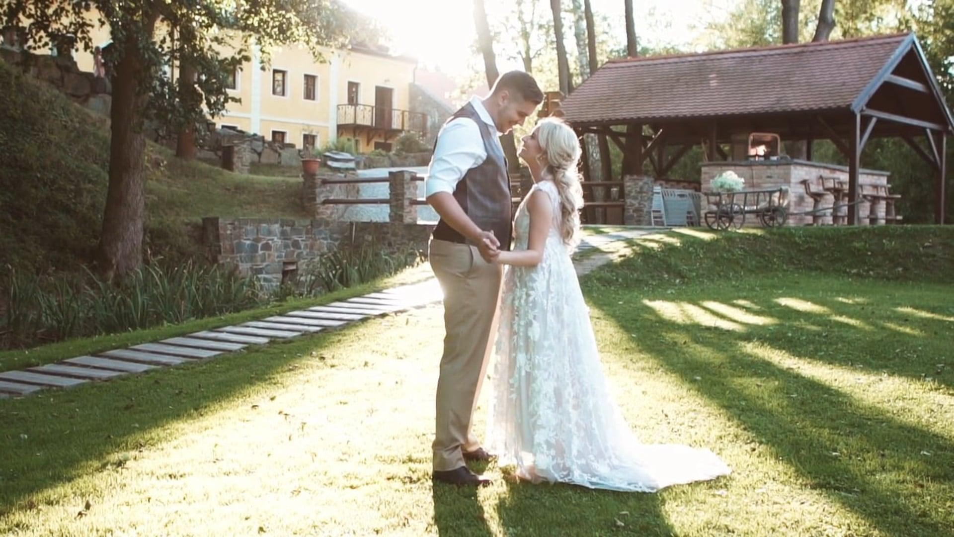 Svatební den: Naty a Majk / Statek Všetice