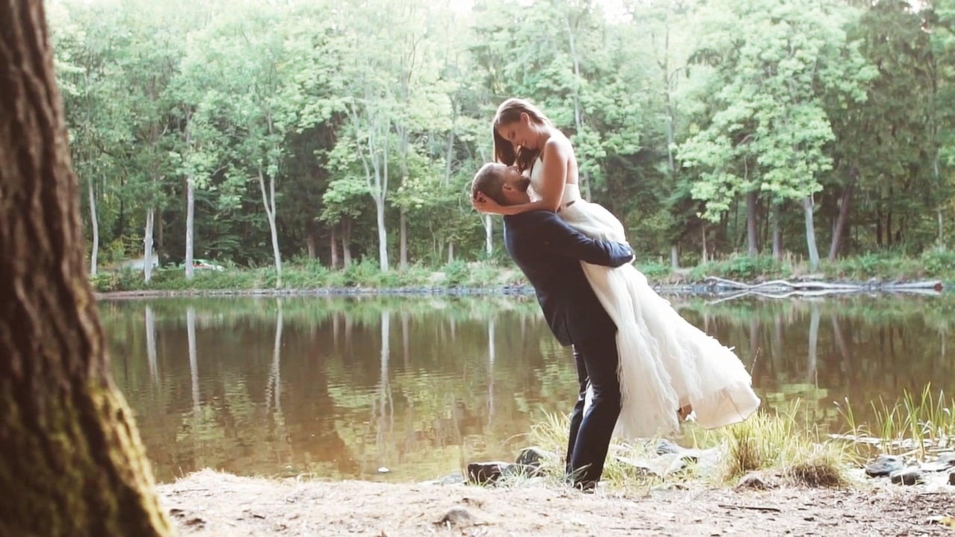Svatební den: Dagmar a Jiří / Na Lukách, Široký důl