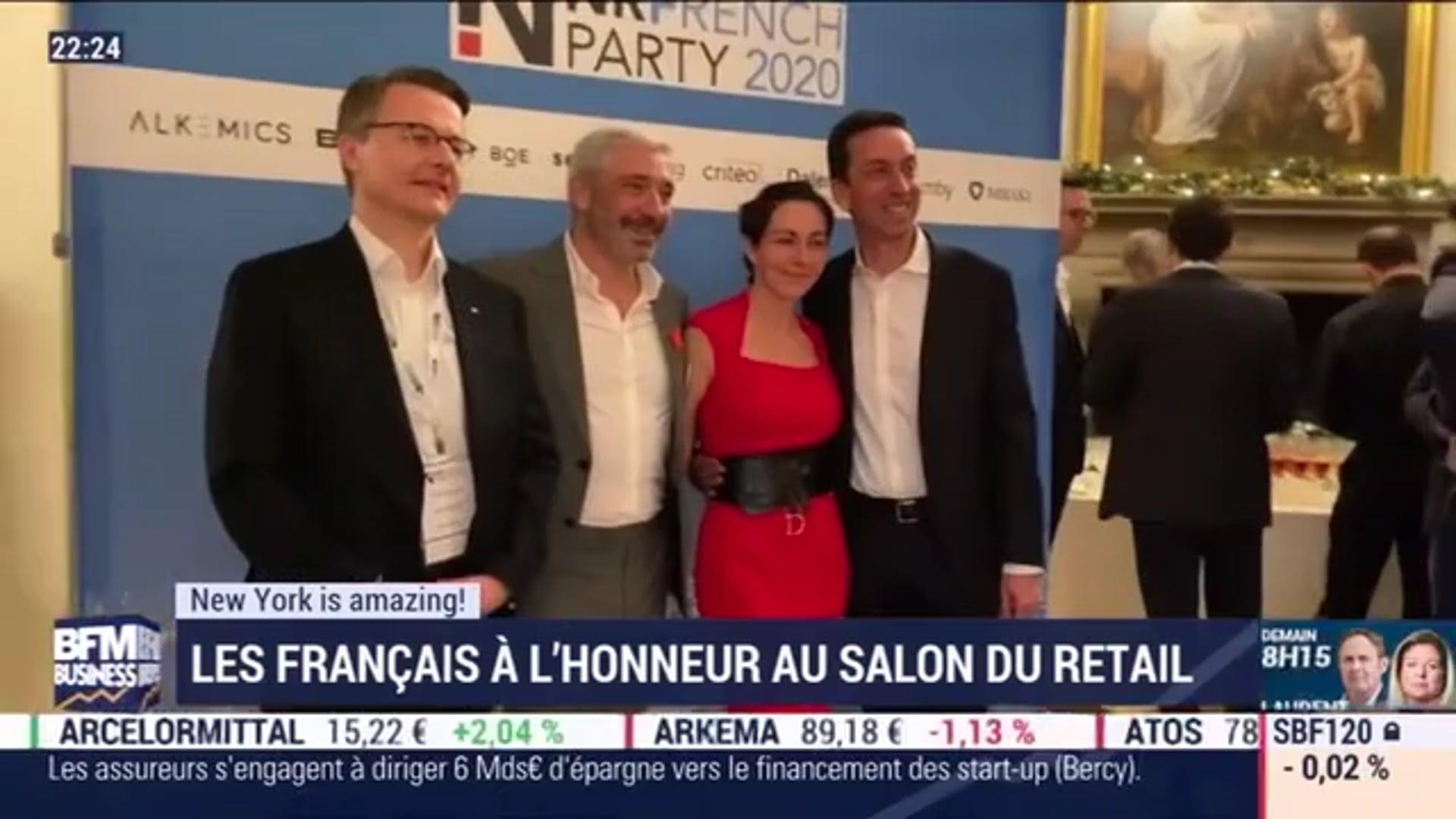 Les Français à l'honneur au salon du retail