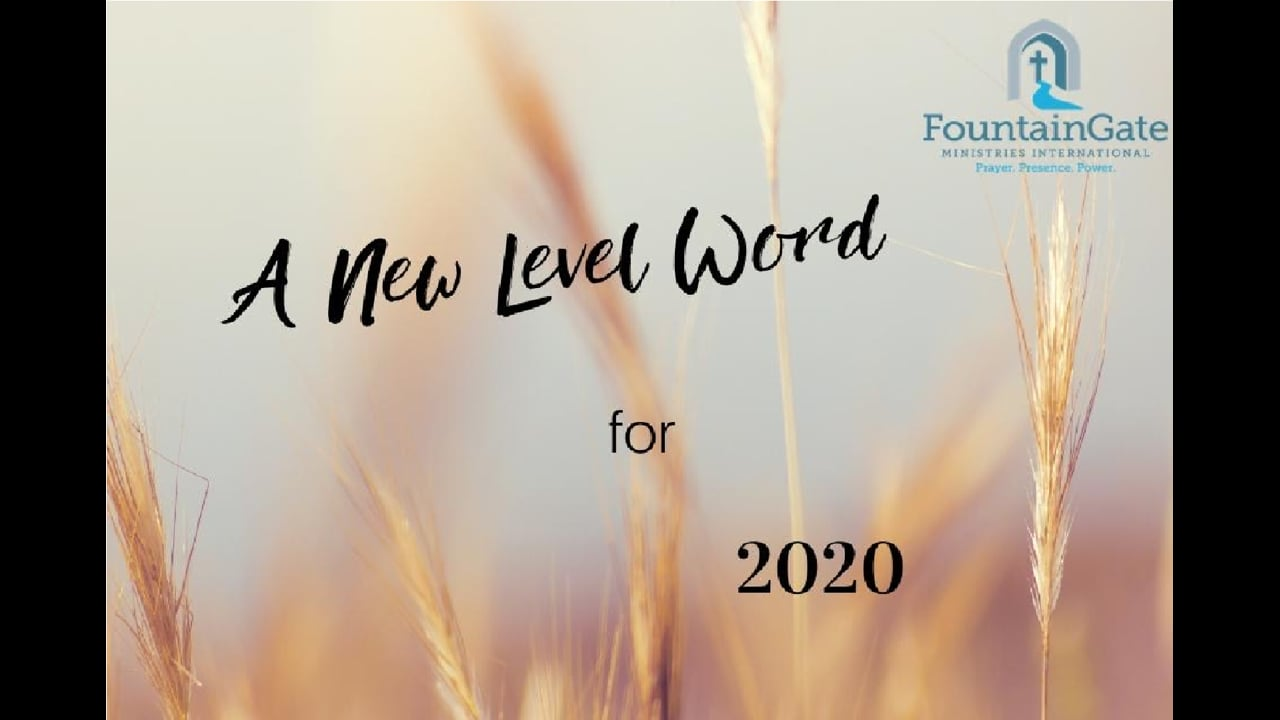 A New Level Word for 2020