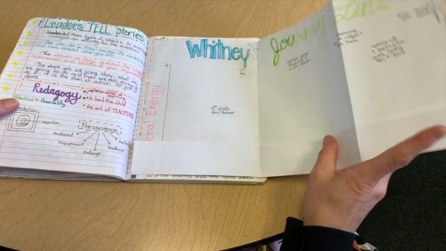 NUA Reflective Notebook