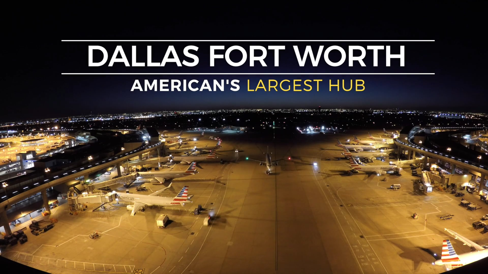 American Airlines: Corporate Communications Time-Lapse Video