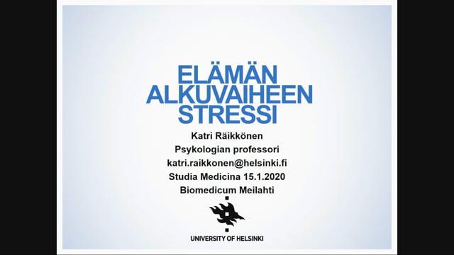 3 Akatemiaprofessori Katri Räikkönen-Talvitie