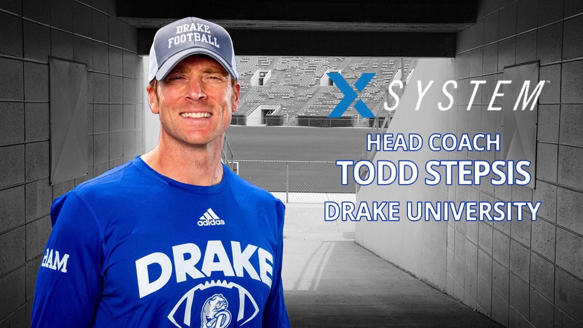 XSystem: Todd Stepsis, Drake University