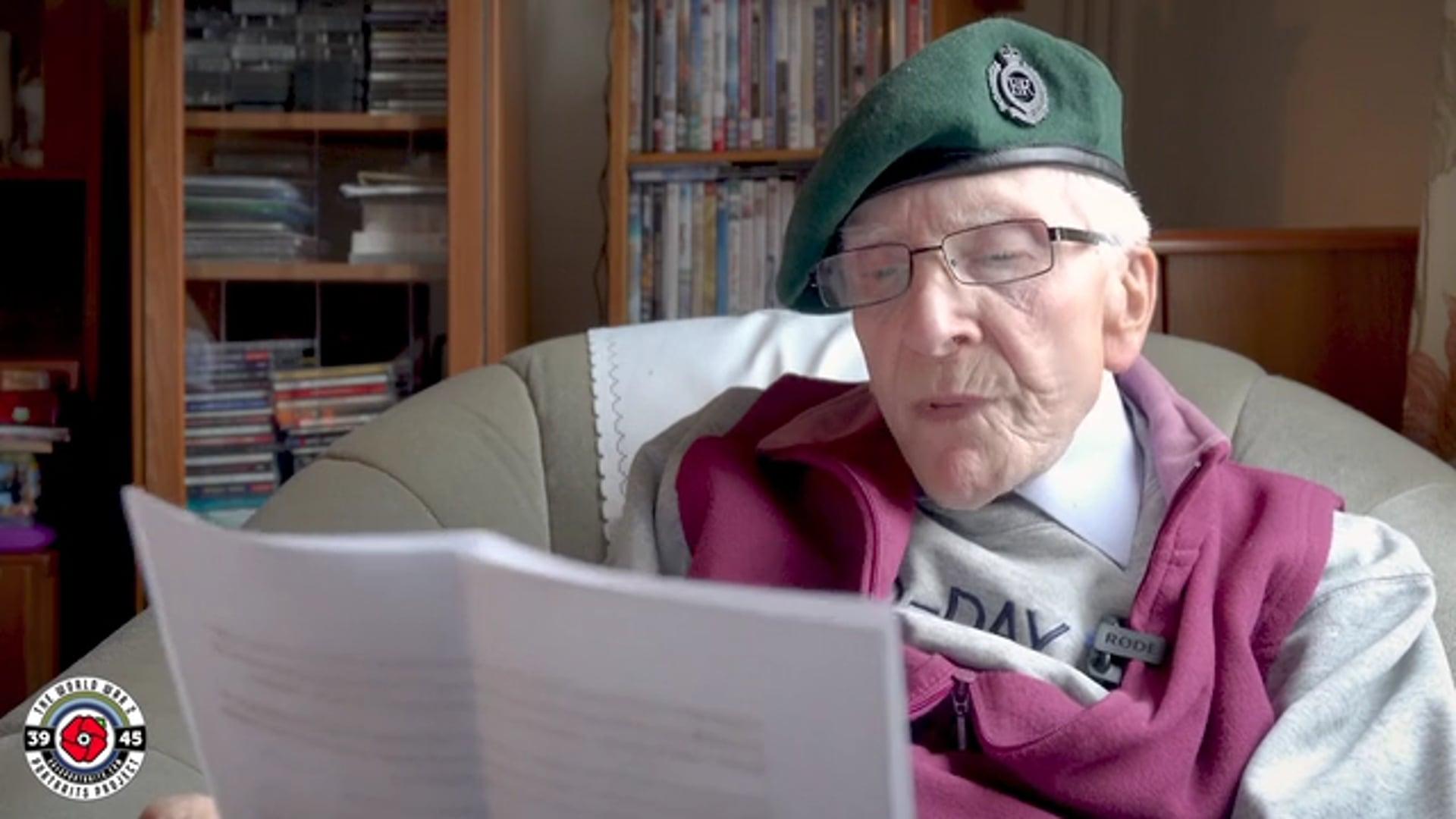 Harry Billinge MBE (Royal Engineers): I Remember