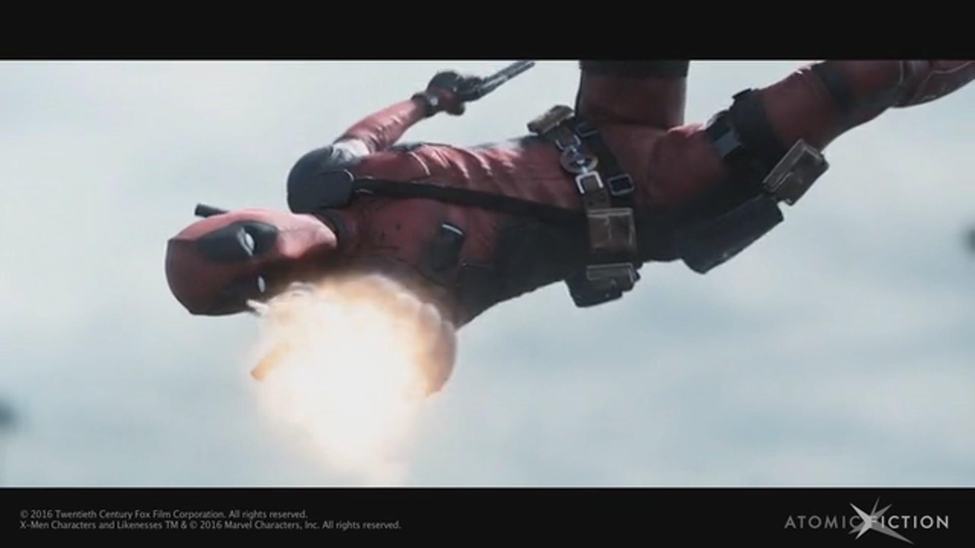Deadpool Visual Effects Breakdown - Mathieu Lebot