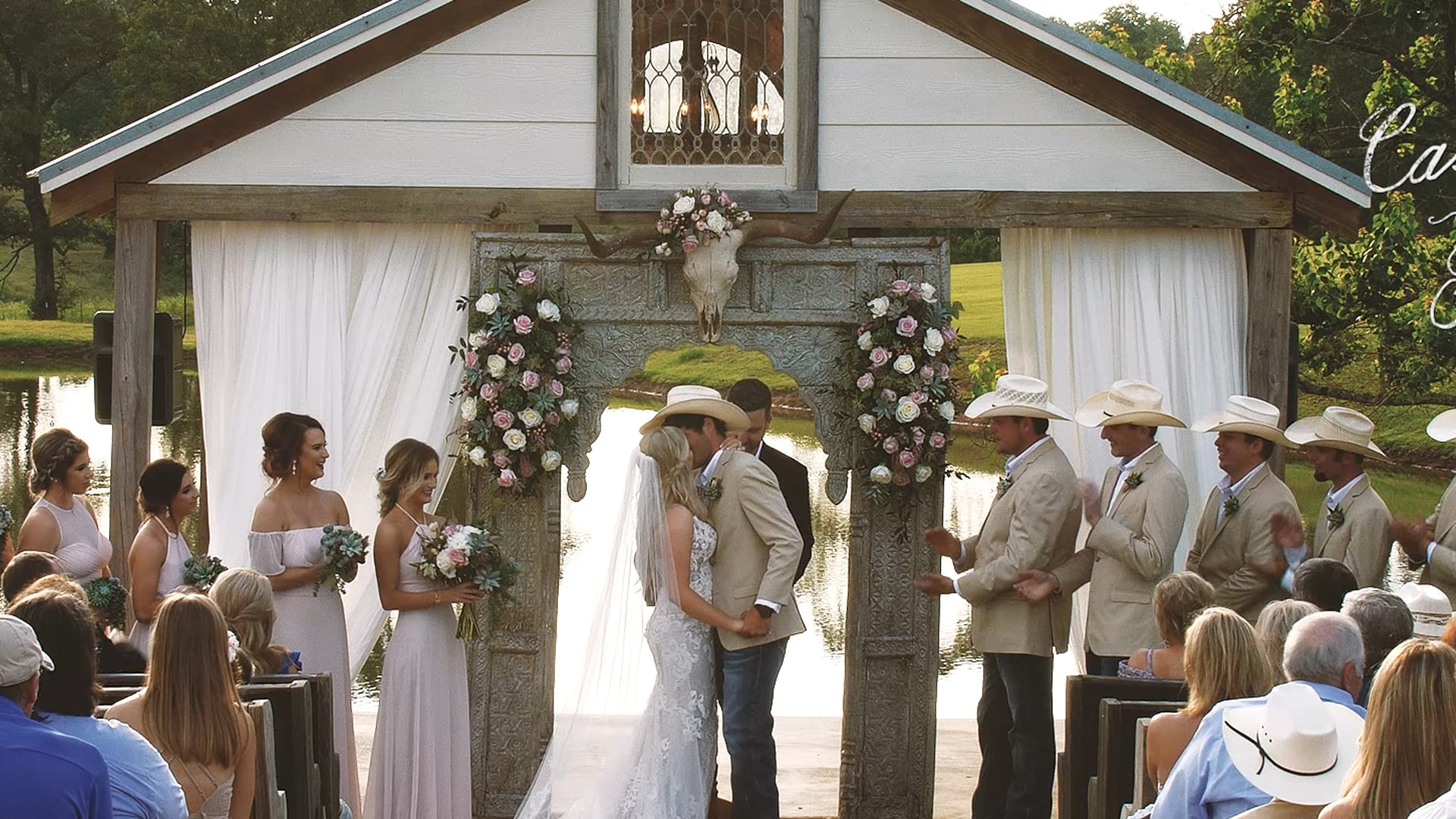 Cassidy & Ric / The White Magnolia / A Cowboy Wedding