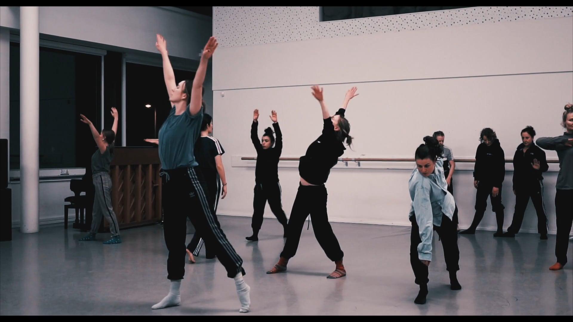 Justine Doswell  Dance Ireland Residency Dec 16-19 2019