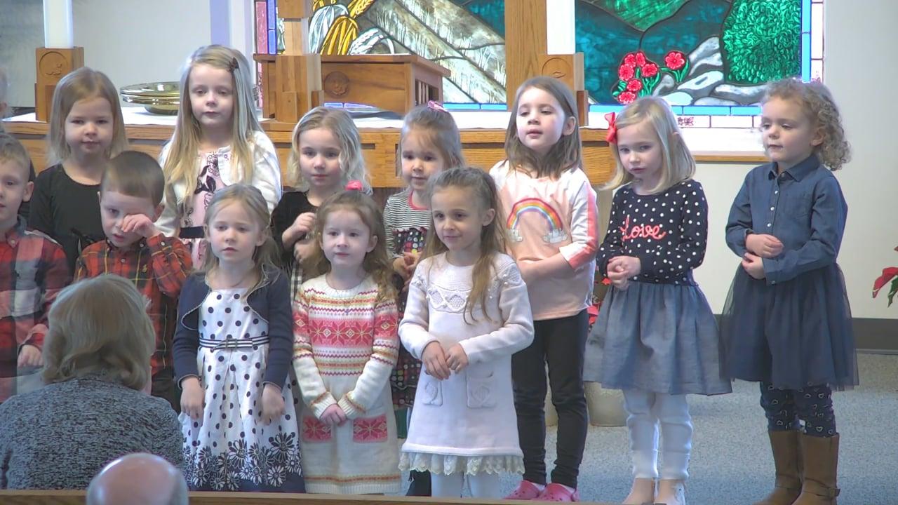 Preschool Choir - God Loved the World & Joseph, Joseph
