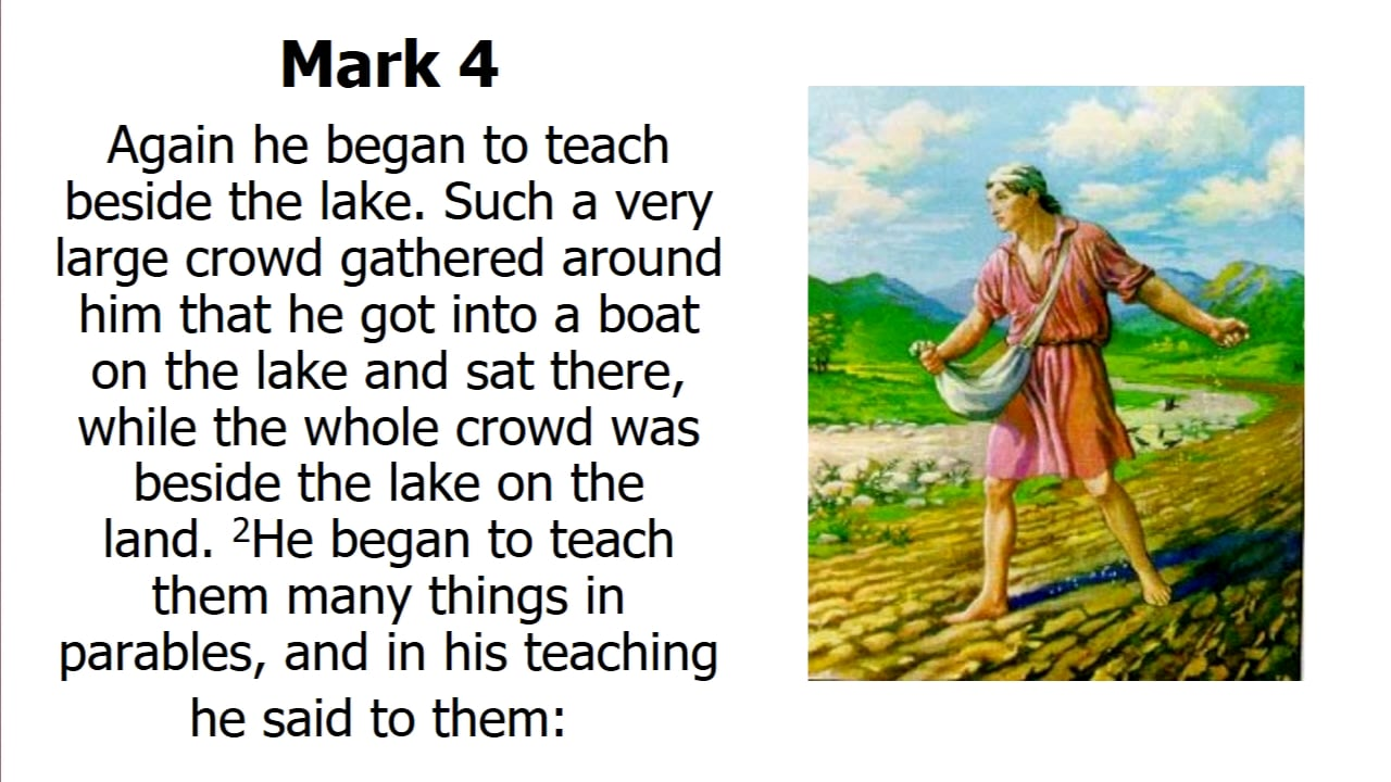 Parables: Found in the Dis-course (Part 2)