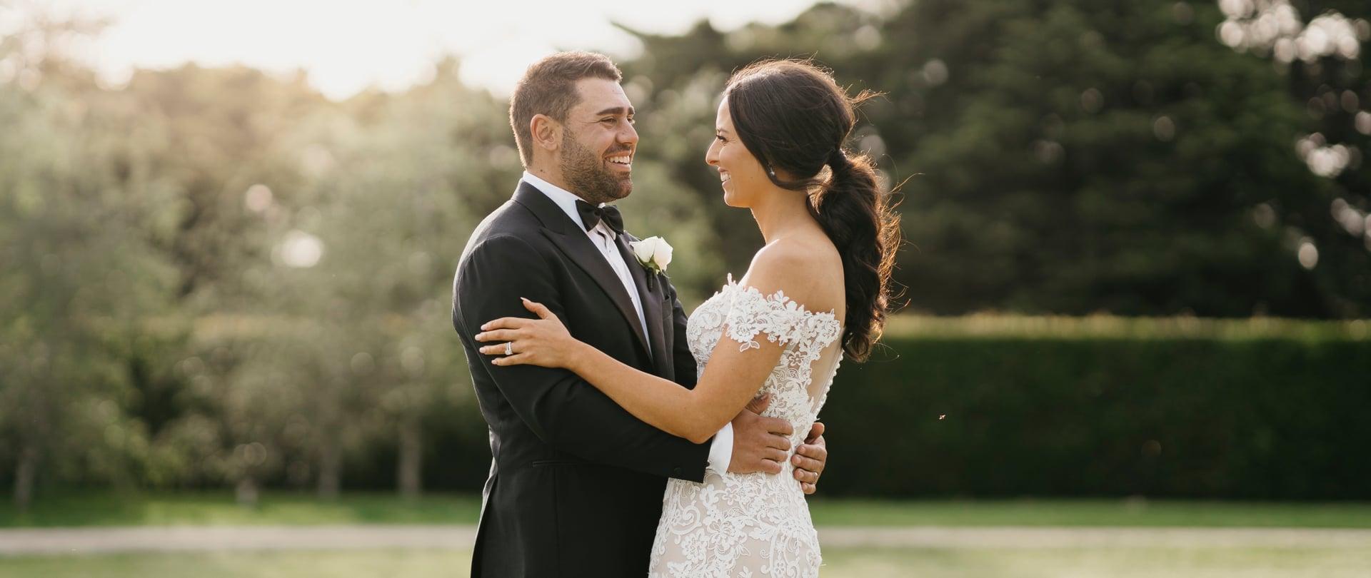 Taryn & Anthony Wedding Video Filmed at Yarra Valley, Victoria