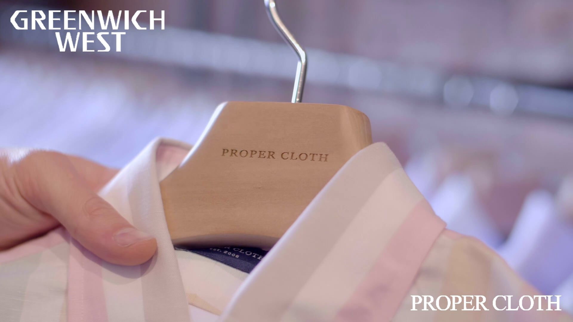 GREENWICH WEST - THE TASTEMAKERS - PROPER CLOTH