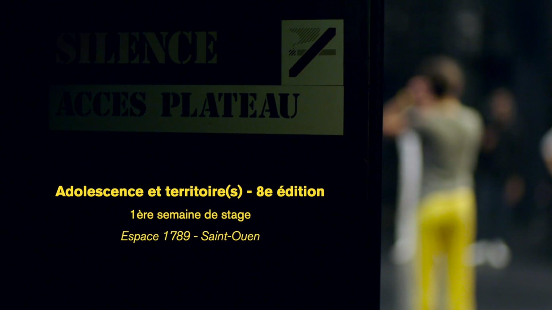 Adolescence et Territoire(s) - 8e édition - EP1
