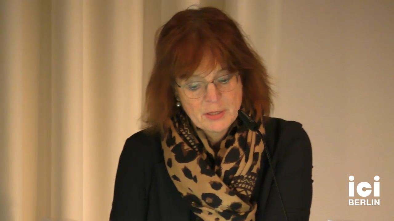 Talk by Ilka Quindeau