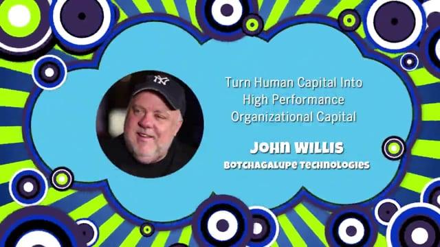 Keynote: Turn Human Capital into High Performance Organizational Capital