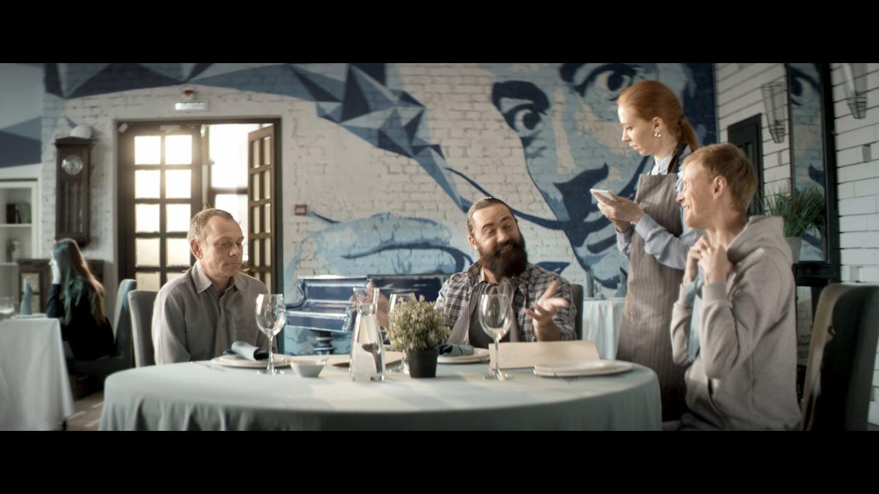 Рекламный ролик: ОСАГО: Встреча старых друзей