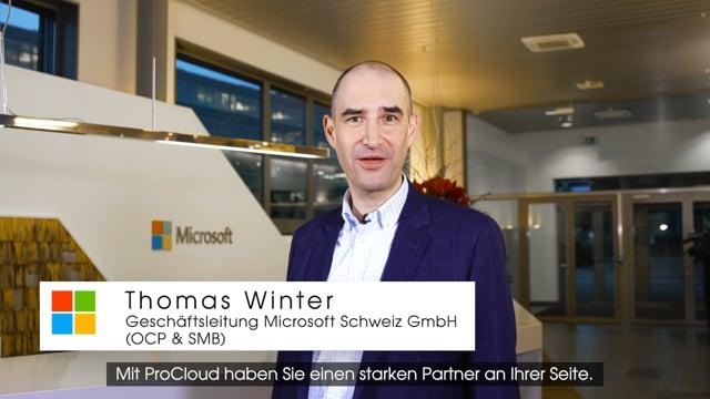 ProCloud AG - Cloud Sevices (Microsoft Schweiz)