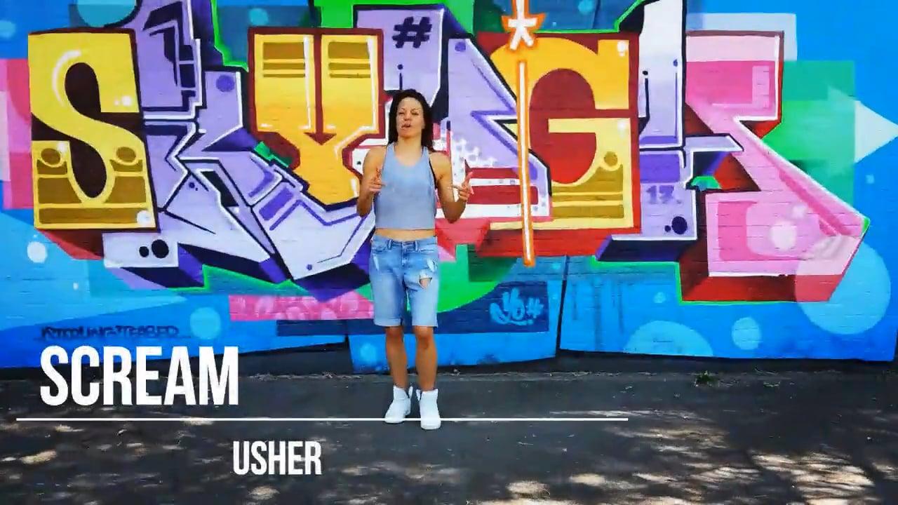 Usher - Scream MEDIUM