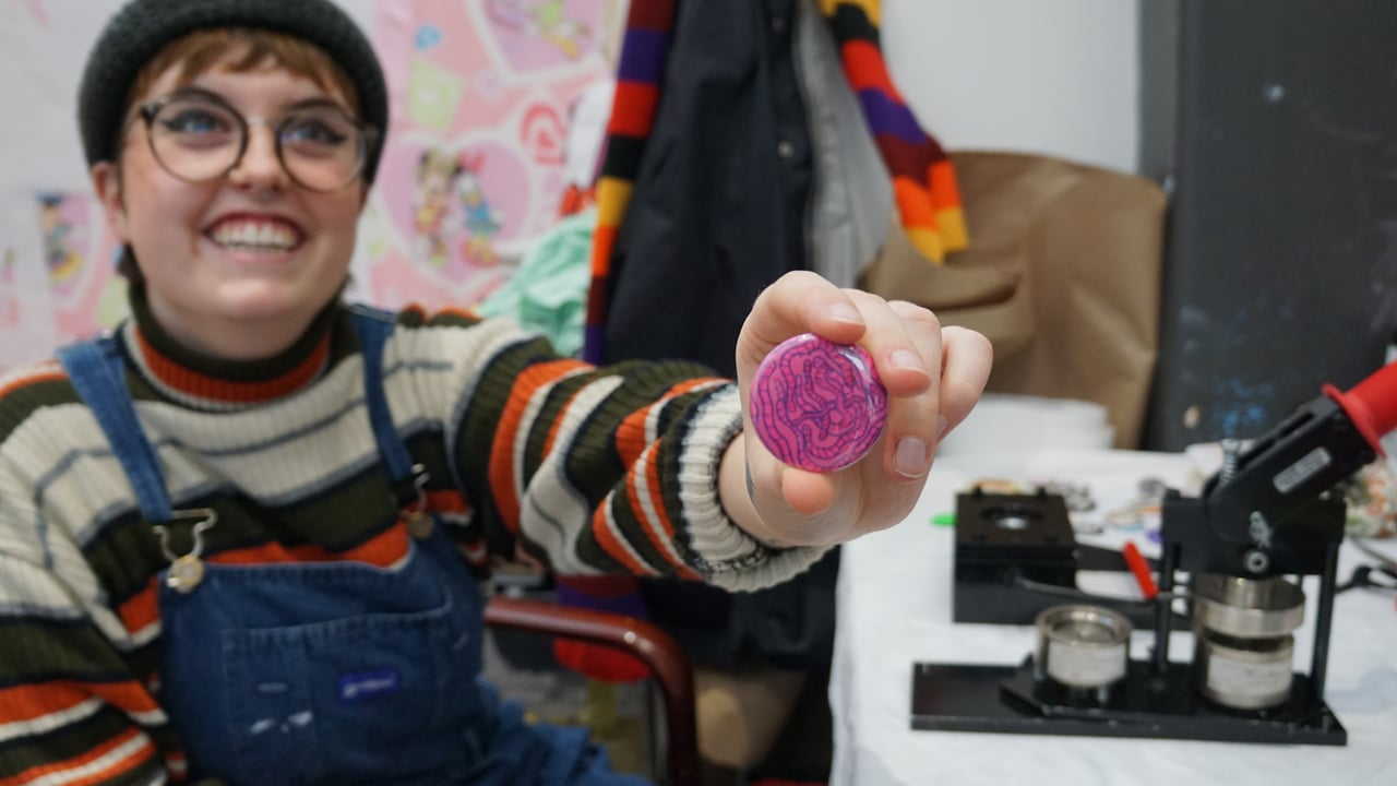 MAKER MAKER: DIY Buttons with Claire Hunter