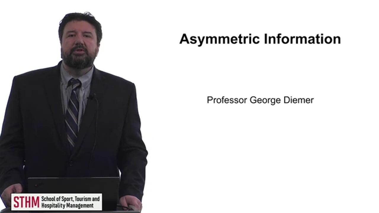 61724Asymmetric Information