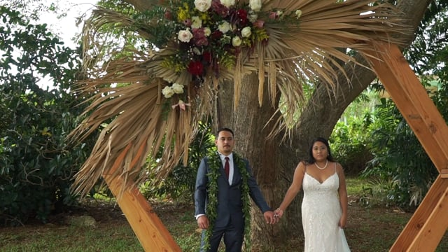 Jess  + Chad | National Tropical Botanical Garden | SDE