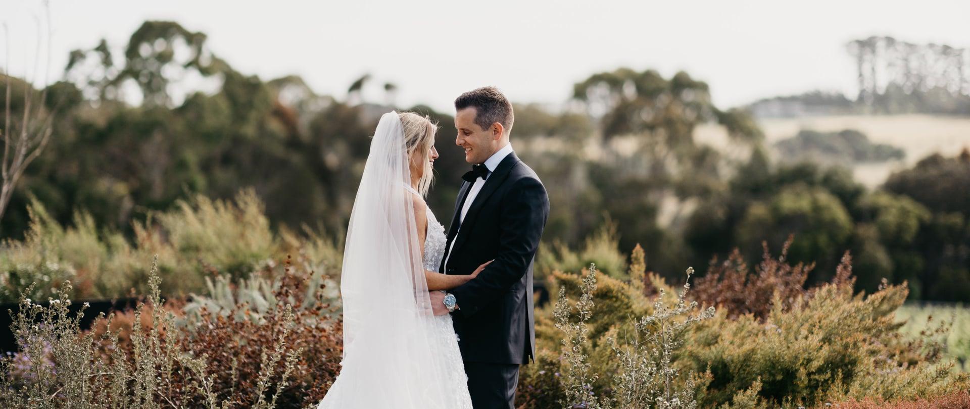 Nicole & Brodie Wedding Video Filmed at Mornington Peninsula, Victoria